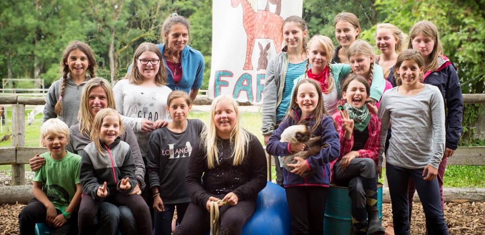 Happy Weekend auf der Kidsfarm für an Krebs erkrankte Kinder