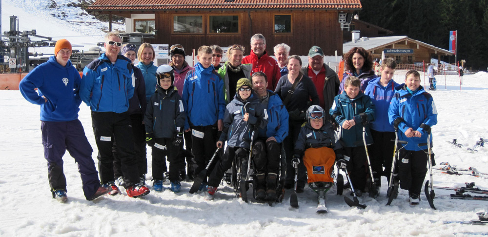 Skifahren mit dem Paralympischen Futureteam